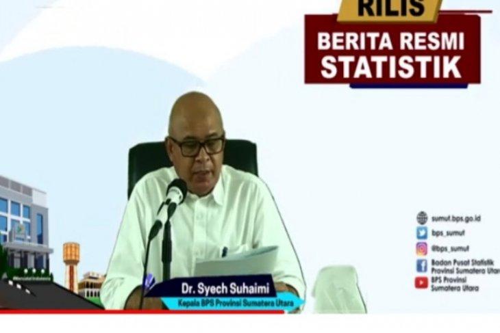 BPS: Nilai impor Sumut naik   13,21 persen