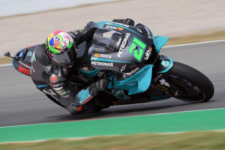 Morbidelli tercepat di FP3, Rossi amankan tiket kualifikasi GP Catalunya