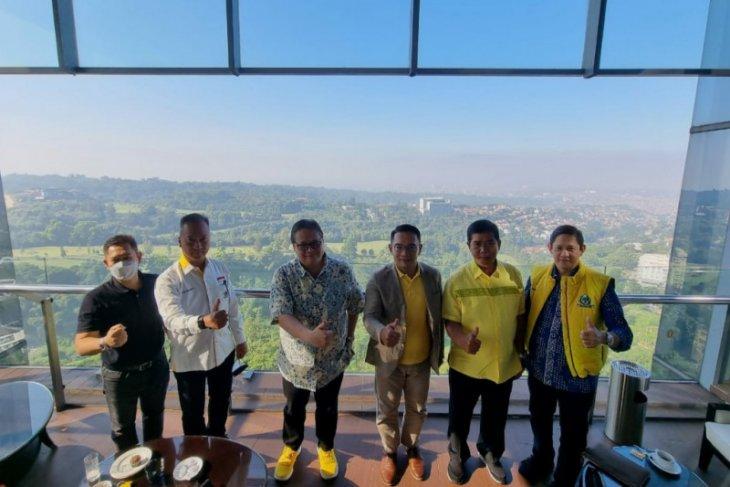 Pakar sebut pertemuan Airlangga-Ridwan Kamil tak bisa lepas Pemilu 2024