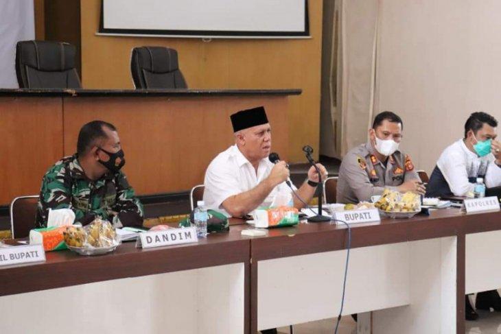 Kasus warga positif COVID-19 di Aceh Tengah melonjak, bupati pimpin rapat evaluasi
