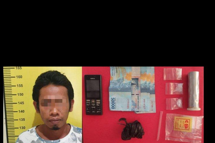 Petugas tangkap warga Kelua pemilik 1,83 gram sabu