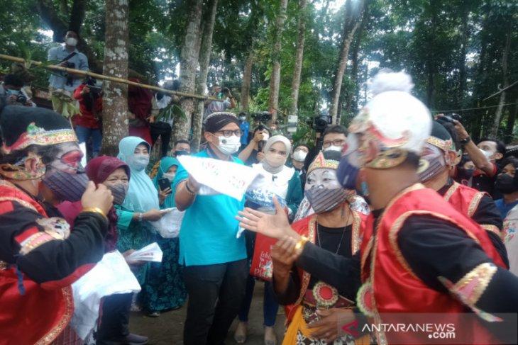 Menparekraf: Pariwisata bangkit dimulai dari desa wisata