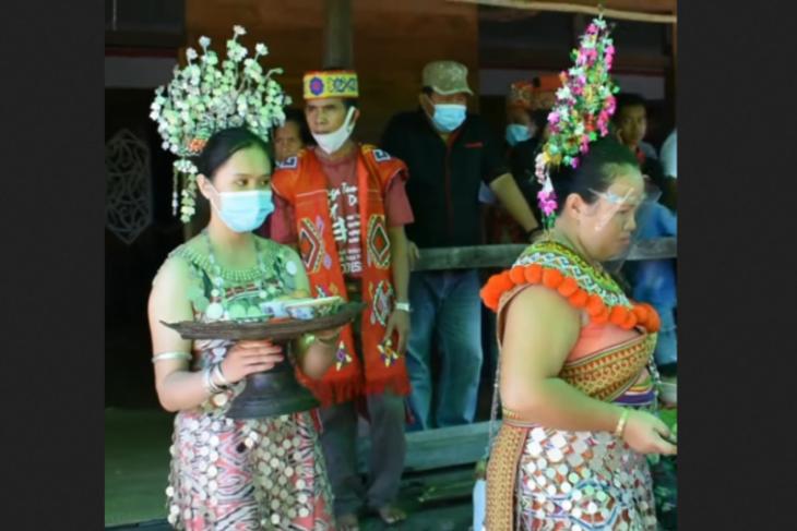 Gawai Dayak Iban perbatasan RI-Malaysia bisa mendongkrak pariwisata