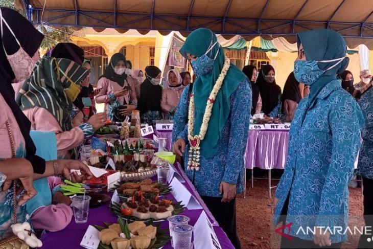 MTP Desa Banua Raya dimeriahkan lomba kudapan antarRT
