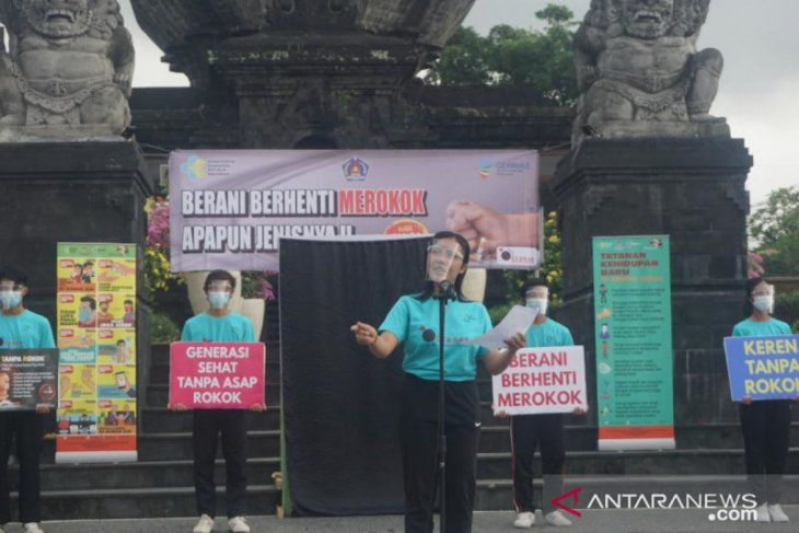 Bupati Klungkung kampanyekan berhenti merokok lewat aplikasi SIPEKAT