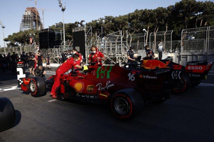 Pole F1 GP Azerbaijan, peluang Leclerc tebus kekecewaan di Monako