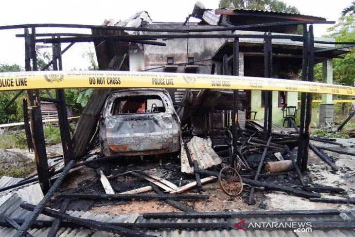 Polisi amankan mobil wartawan korban pembakaran rumah di Aceh Tenggara