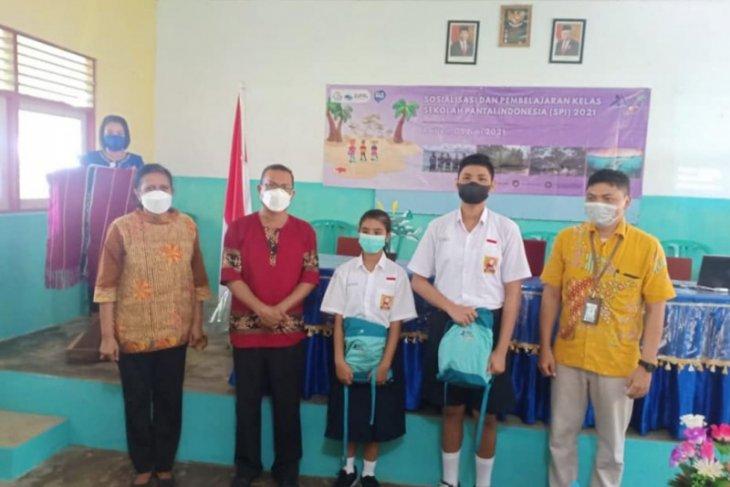 Selamat SMPN 8 Ambon ditetapkan sebagai sekolah pantai Indonesia 2021. Begini penjelasannya