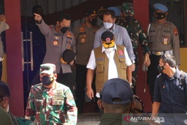Panglima TNI dan Kapolri cek penanganan COVID-19
