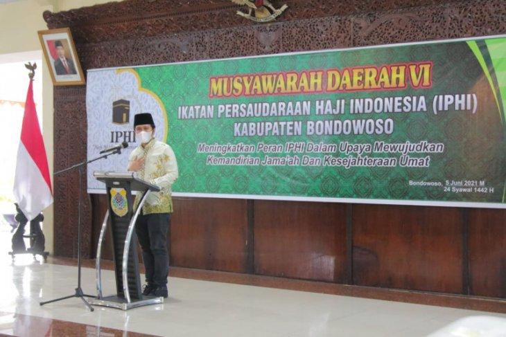 Wagub Emil minta anggota IPHI Jatim motivasi calon haji gagal berangkat