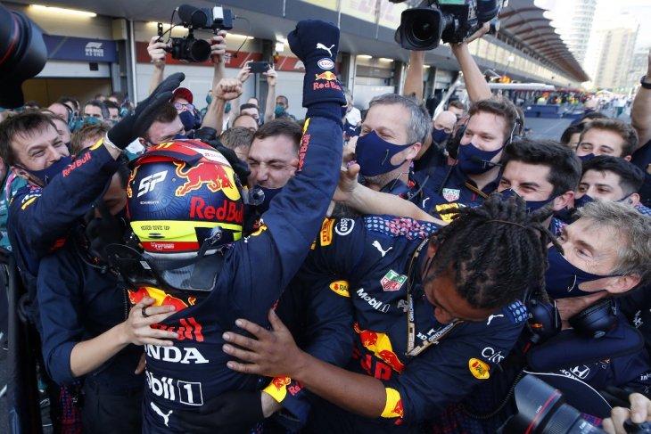 Formula 1: Perez nyaris menyerah sebelum menang perdana untuk Red Bull