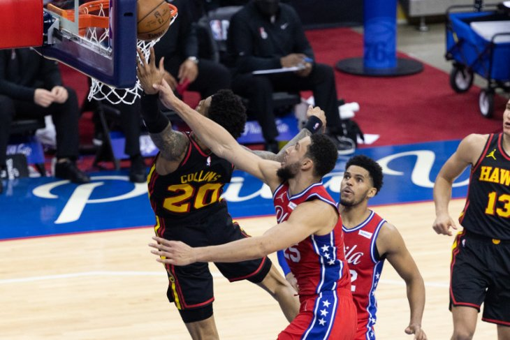 NBA, Hawks sikat 76ers di gim pertama semifinal NBA Wilayah Timur