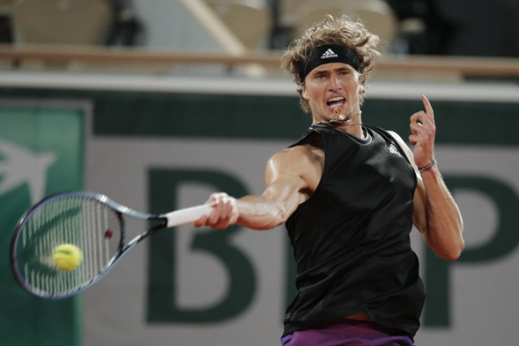 French Open: Zverev atasi Nishikori di babak 16 besar