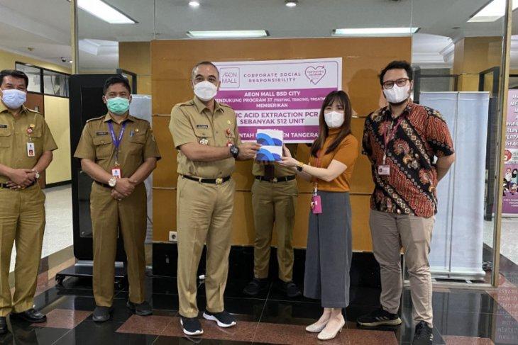 AEON Mall BSD City bantu Pemkab Tangerang atasi penyebaran COVID-19