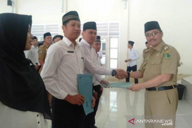 Kontrak kerja guru agama desa Rejang Lebong terhenti