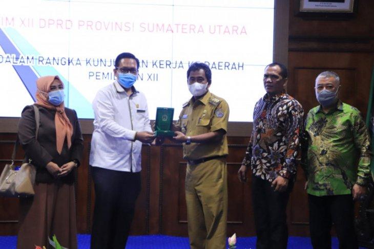 Wali Kota Binjai sampaikan keterbatasan SDA dihadapan DPRD Sumut