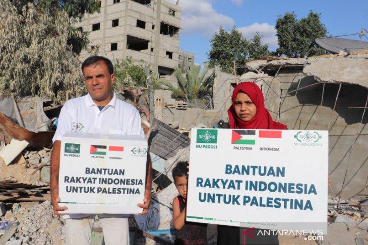NU Care-LAZISNU salurkan bantuan untuk Palestina