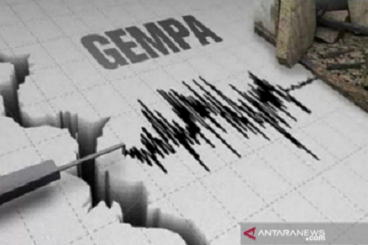 Gempa bumi magnitudo 5,3 guncang  Sulut