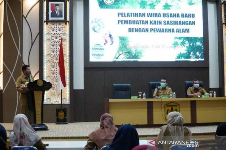 Disperdagin Banjarmasin bina puluhan WUB sektor Sasirangan