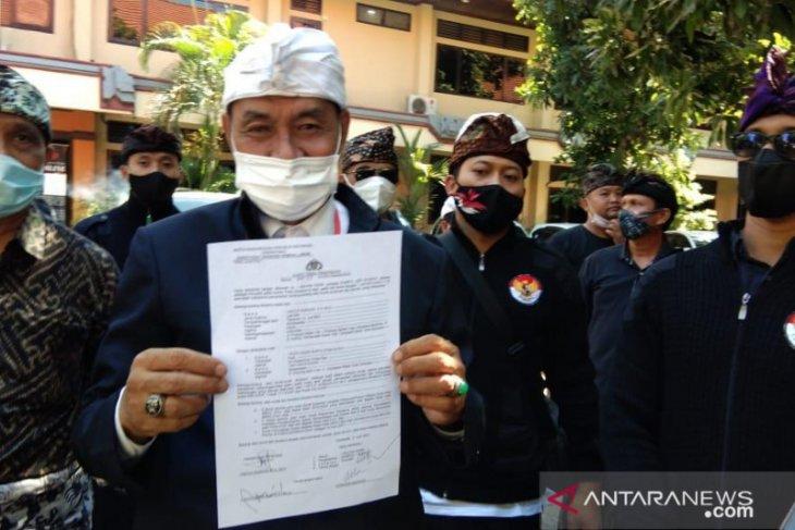MKKBN lengkapi barang bukti pengaduan untuk Ketua MDA Bali ke Polda