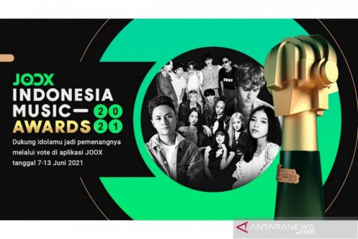 JOOX Indonesia Music Awards 2021 ditentukan