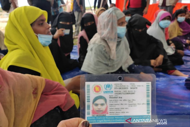 62 Imigran Rohingnya di Aceh Timur ternyata telah kantogi kartu UNHCR