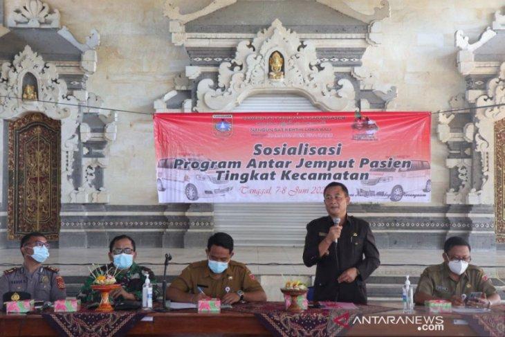 Pemkab Karangasem luncurkan Pelayanan Antar Jemput Pasien pada 22 Juni