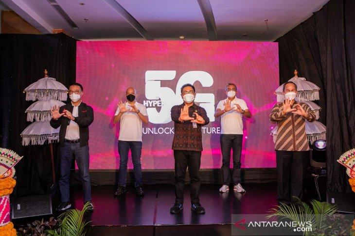 Telkomsel luncurkan Layanan Telkomsel 5G di Denpasar (Lima Kota)