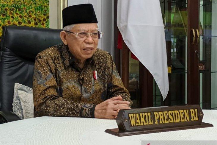 Wapres tinjau vaksinasi COVID-19 di Tangsel Banten