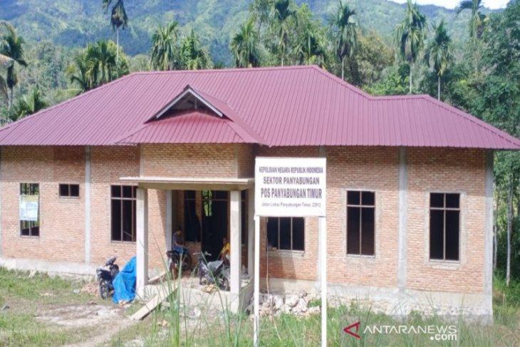 Pembangunan Kantor Polsek Panyabungan Timur kembali dilanjutkan