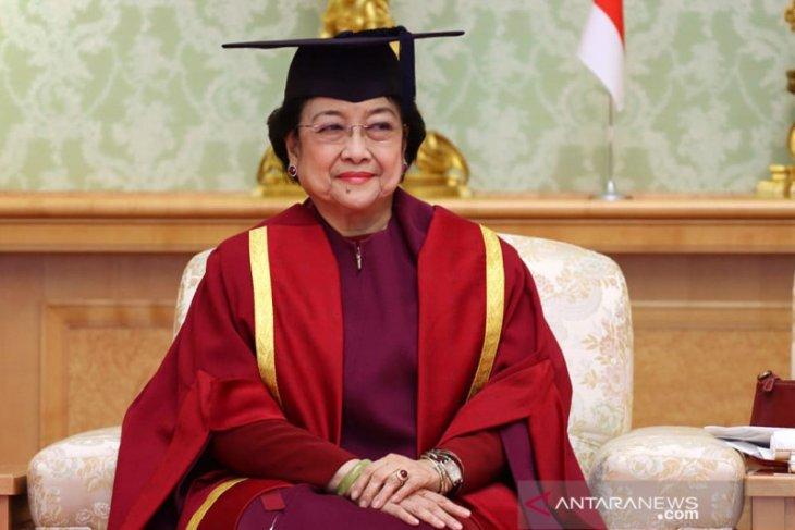 Unhan akan berikan gelar profesor kehormatan kepada Megawati