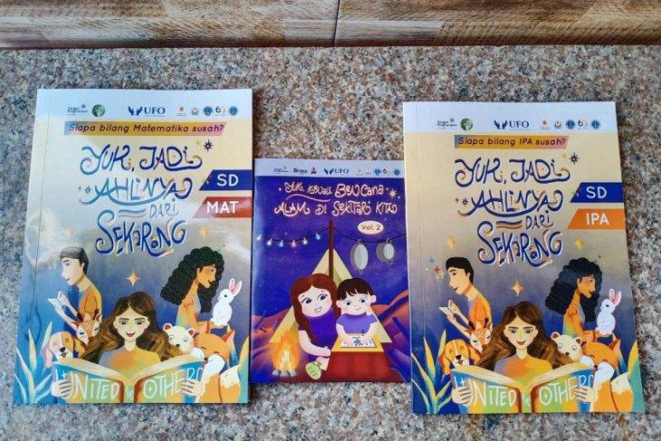 BEM UK Petra-Ubaya kolaborasi hasilkan modul pembelajaran untuk siswa SD daerah 3T