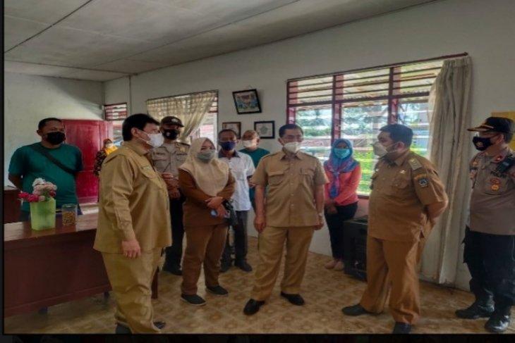 Tim Provsu tinjau PPKM Mikro Kampung Silemang Tebing Tinggi