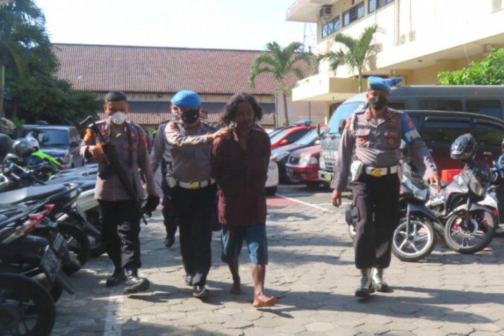 Pria bersenjata tajam datangi Mapolresta Yogyakarta