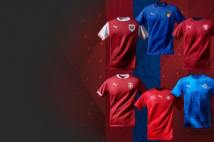 Berbagai jenis jersey tim Piala Eropa 2020
