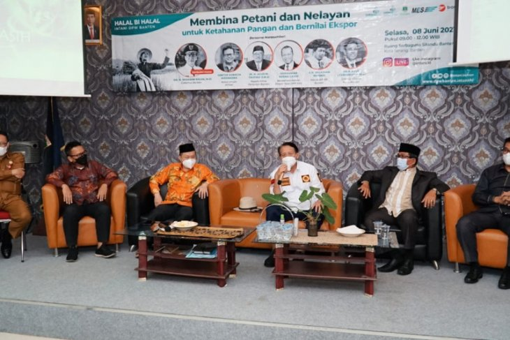 Bank Banten gandeng petani dan nelayan perkuat ekosistem keuangan daerah
