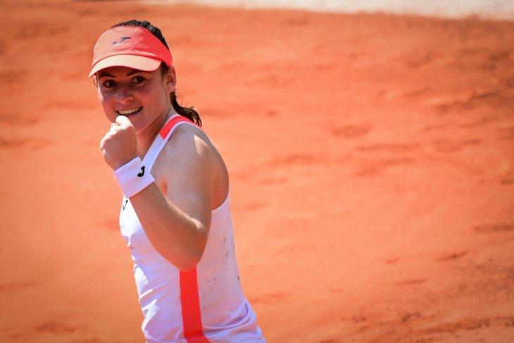 Zidansek petenis Slovenia pertama ke semifinal Roland Garros