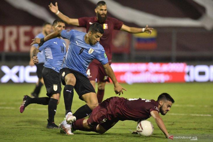 Venezuela tahan imbang Uruguay tanpa gol di kualifikasi Piala Dunia 2022