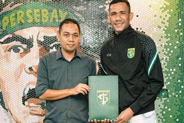 Persebaya resmi kontrak striker asal Brazil Jose Wilkson selama semusim