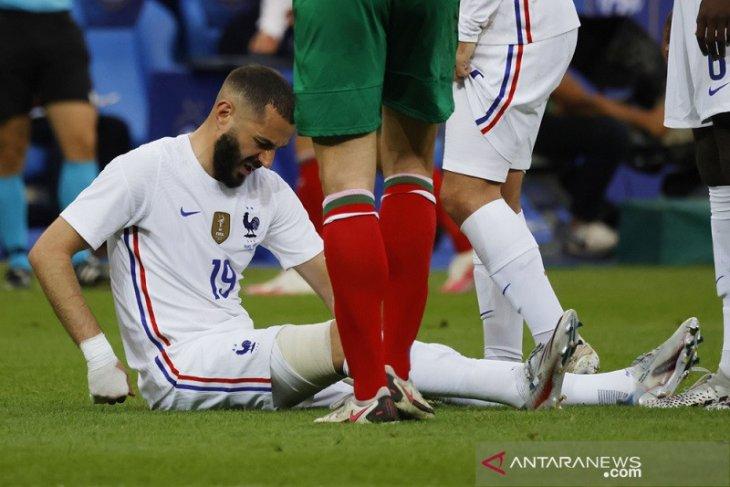 Pemanasan Euro 2020: Prancis gasak Bulgaria tapi dibayangi ancaman cedera Karim Benzema