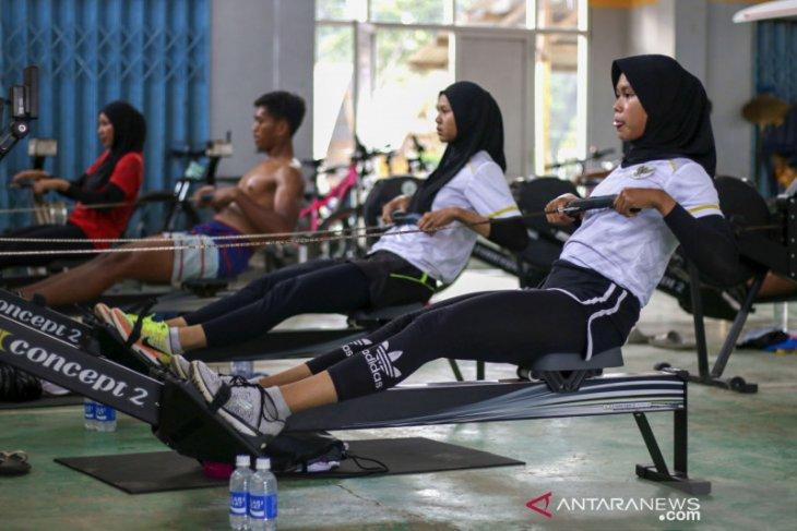 Tim dayung Indonesia  asah kemampuan jelang Olimpiade Tokyo