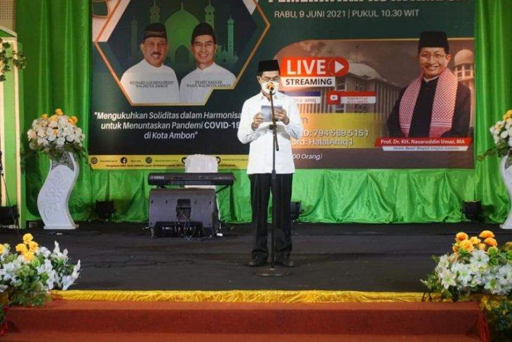 Halal bi Halal upaya rajut persaudaraan warga Ambon patut diapresiasi