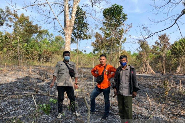 Satu hektare lahan di OKU Sumsel terbakar
