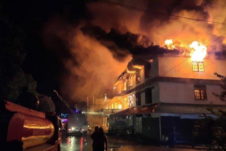 Kebakaran rumah di Duri Kosambi Jakbar diduga akibat korsleting listrik