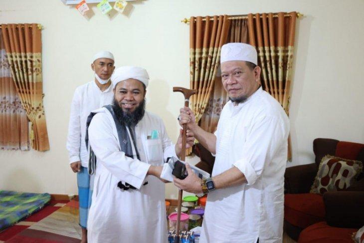 Ketua DPD LaNyalla Mattalitti sowan ke Ponpes Al-Fatah Temboro Magetan