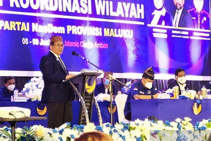 Kader NasDem Maluku diingatkan siap diri hadapi Pemilu 2024 begini penjelasannya