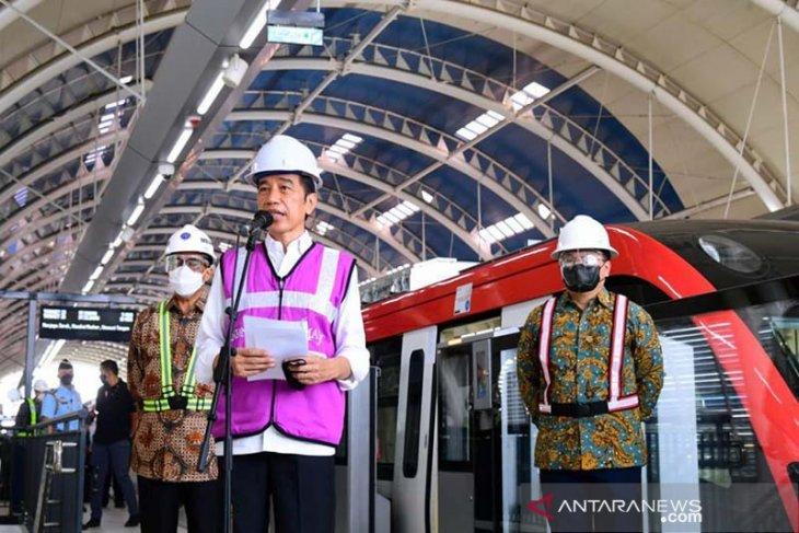 LRT Jabodebek mulai beroperasi pada Juni 2022