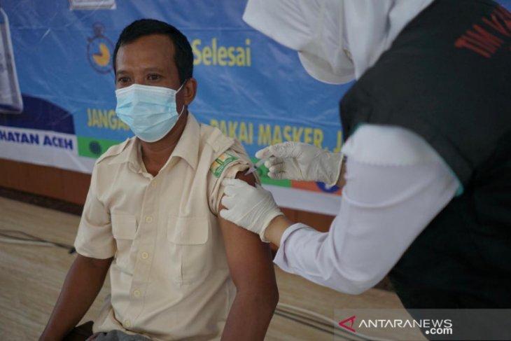 Cakupan vaksinasi COVID-19 di Aceh masih 15 persen