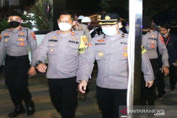 Patroli malam Polresta Banjarmasin jaga kamtibmas tetap kondusif pascapelaksanaan PSU