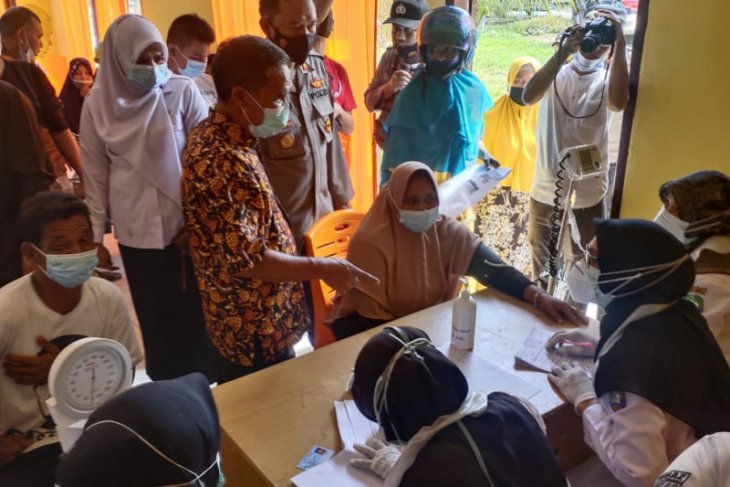 Warga Abdya antusias ikuti vaksinasi COVID-19